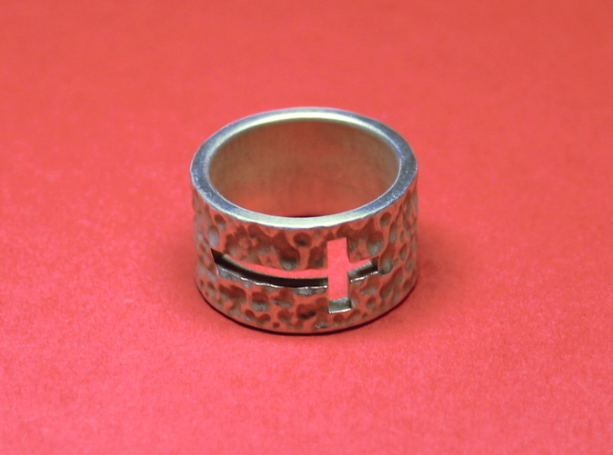 Photo of finished ring