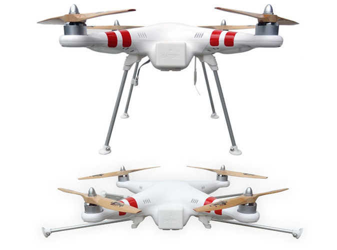 DJI Phantom Foldable Landing Gear overview