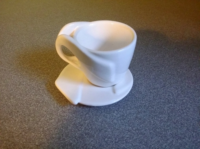 Espresso Cup with Saucer (separately available)