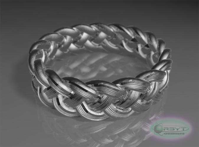 Raytraced DOF render - simulating raw silver material