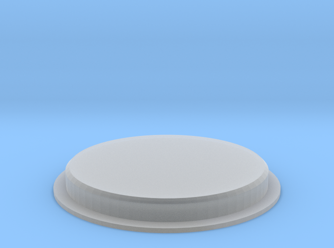 Replacement glass cap