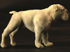 Bulldog XXL Full Color Sandstone 3d printed Left side