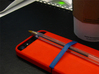 "Cariband case for iPhone 5/5s, ""holds stuff"" 3d printed Sketchbook, coffee, pen...ready to go"