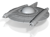 Selenite Attack Saucer 3d printed