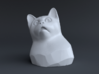 Cat Gasp (5 cm/2 inch) 3d printed Front