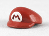 M-Plumber Cap 3d printed Painted Frosted Ultra Detail