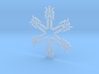 Snowflake Lion Force Ornament 3d printed