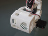 3-Axis gimbal (pan tilt roll) for GoPro camera 3d printed Assembled view (servos not included)