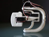 3-Axis gimbal (pan tilt roll) for GoPro camera 3d printed Assembled side view (servos not included)