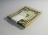 money clip 3d printed Printed in White Strong & Flexible matte finish