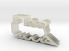 Train Engine Cookie Cutter Side View 3d printed