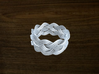 Turk's Head Knot Ring 4 Part X 10 Bight - Size 11 3d printed
