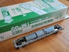 N Gauge 1959 Tube Train 4Car 3d printed Motorised chassis (Not supplied)