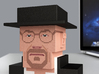 Breaking Bad Heisenberg (large) 3d printed