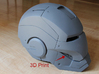 Iron Man Helmet Detail - Right Teeth 3d printed 3D print incorporated into Helmet Armor, Sanded & Primed