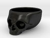 The Cranium Mug 3d printed A little edgy with the matte black