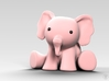 Phanpy: The Pink Elephant 3d printed 3D Render Simulation
