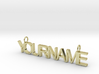 Custom Name necklace 3d printed