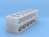 Track Bumpers - Set of 20 - N scale 3d printed