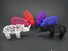 Digital Safari- Elephant (Small) 3d printed Available in 6 Different Colors