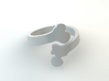 Crossed Bone Ring Size 6.75 3d printed