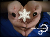 Victorian Christmas Ornament Snowflake 3d printed