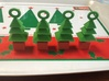 3d Xmas Tree Tree Decoration Set Of 4 Smaller 3d printed