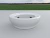 Fake Bowl 3d printed A view, of the fake bowl.