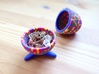 Egg Jewelry Box: Rainbow Mosaic 3d printed Fabergé for everyone