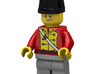 British Wellington Shako 3d printed British Officer (Render of an example Usage)