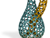 Klein Bottle Voronoi Weave Color 3d printed