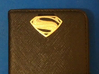 Man Of Steel Emblem - With Pegs 3d printed Accessory - Attached to wallet
