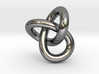 Trefoil Knot 1inch 3d printed