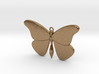 Single Butterfly Pendant (large) 3d printed