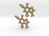 Theobromine Earrings 3d printed