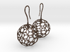 Fertilized Polyhedron Egg Earring 3d printed