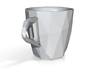 one cup a day | Day 09: Low Resolution Coffee Cup 3d printed