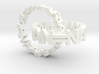 Interlocked Name Rings 3d printed