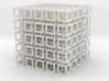 interlocked cubes 5 3d printed