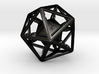 Chained die 20-sided 3d printed