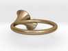 Double-Trumpet Ring 3 3d printed