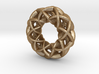 3 strand double mobius charm bead 3d printed