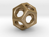Dodecahedron - thick web 3d printed