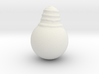 Lightbulb 3d printed