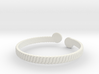 Simple Braided Bracelet -v1b 3d printed