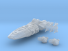 Strigon Class Assault Carrier 3d printed