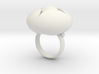 Ellipse Flower Ring # 2 @ 30 mm 3d printed