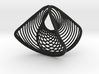 Wearables   ring   concave convex   size K 3d printed
