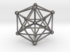 Great Dodecahedron 3d printed