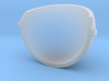 Puppet eyelid for 4cm ping pong balls 3d printed